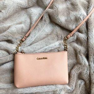 Calvin Klein Crossbody Bag Baby Pink